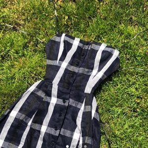 Reformation Gingham Maxi Dress